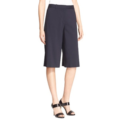 'Grega' Flat Front Shorts