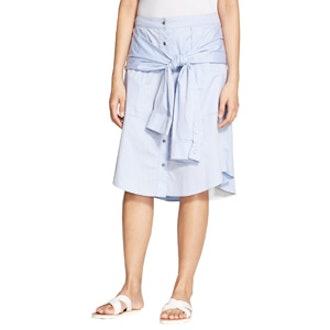 Cotton Poplin Skirt