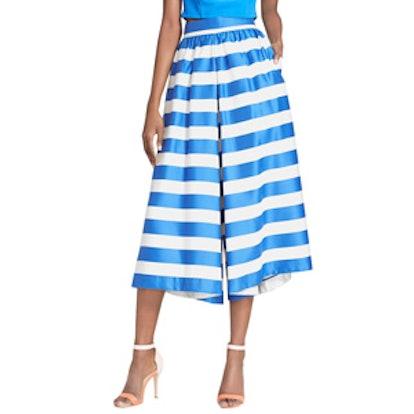 Stripe High Waist Culottes