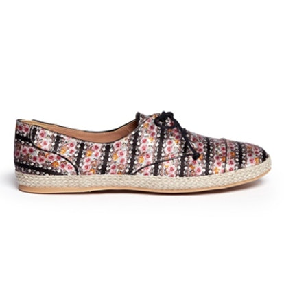 Dolly Lace-Up Espadrille Flats