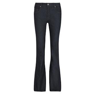 Denim Flare Hig-Rise Flared Jeans