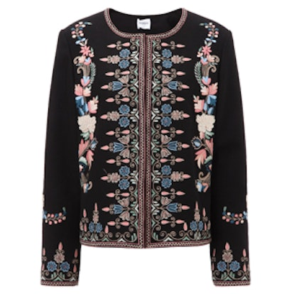 Black Embroidered Sofia Jacket