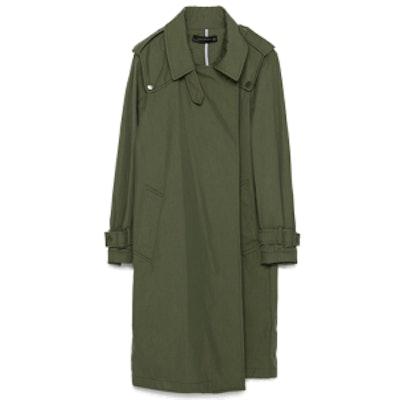 Oversized Cotton Trenchcoat