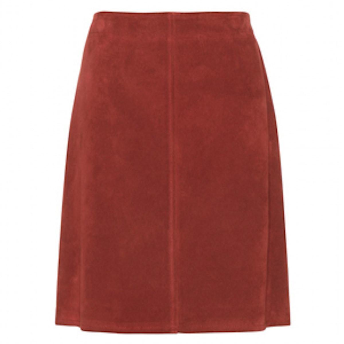 Aline Suede Skirt