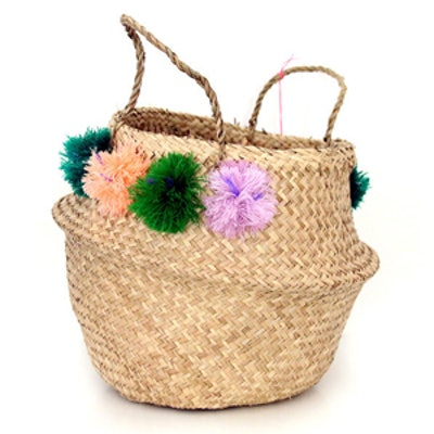 Medium Pom Pom Basket