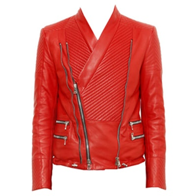Nappa Leather Moto Jacket