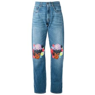 Floral Patch Jean