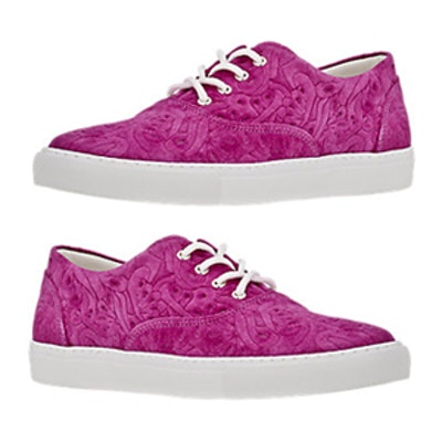 Paisley Low-Top Sneakers