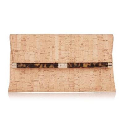 440 Envelope Metallic Cork Clutch