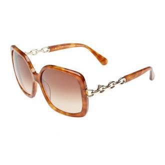 Zoe Chain Link Sunglasses