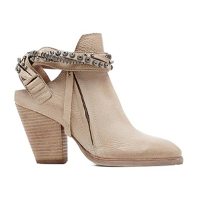 Hollice Booties in Taupe