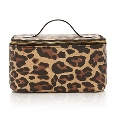 Leopard Print Makeup Case