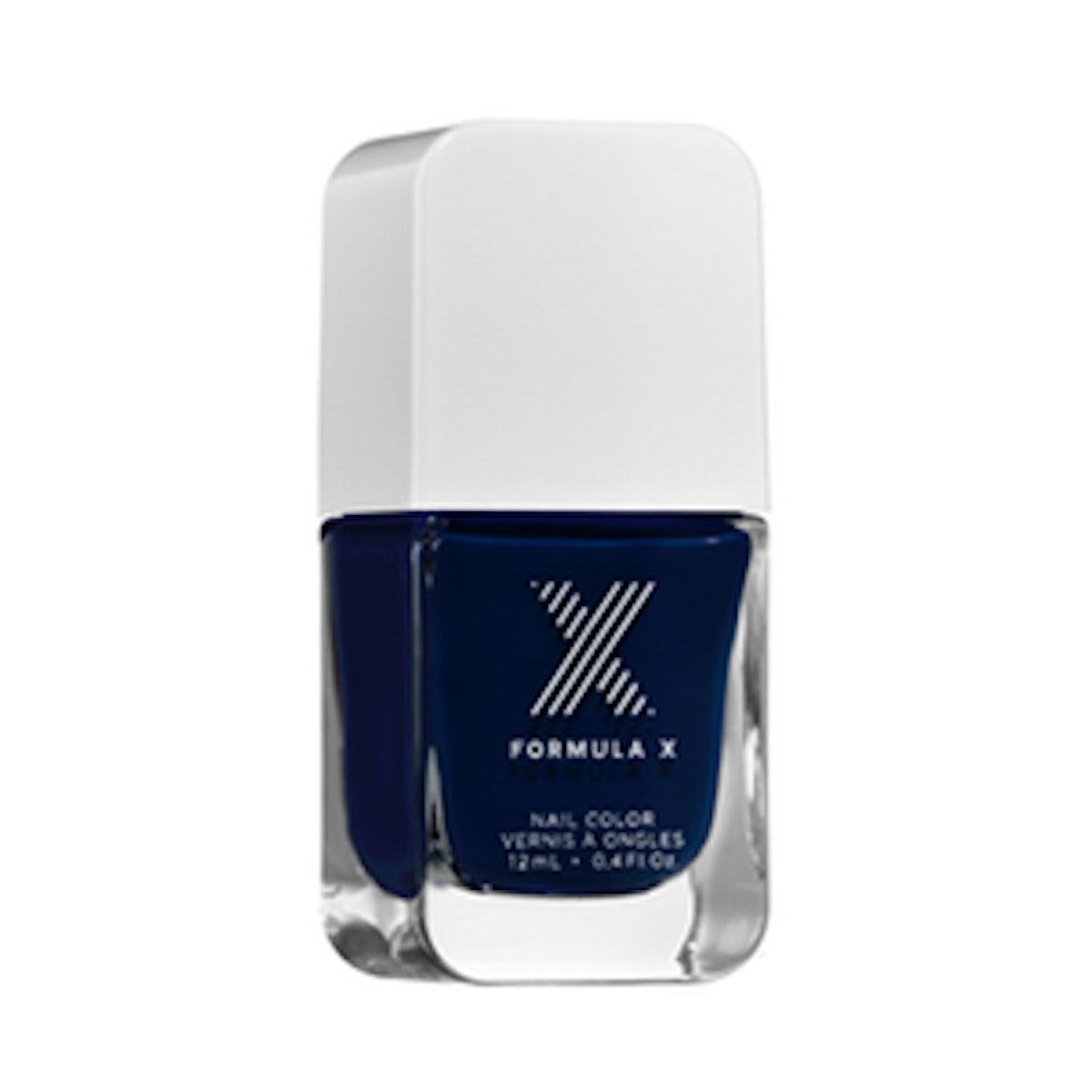 Majestic Midnight Blue Nail Polish