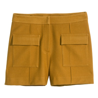 Textured Weave Shorts