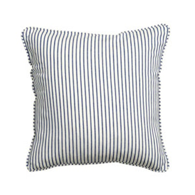 Cotton Cushion Cover in Dark Blue