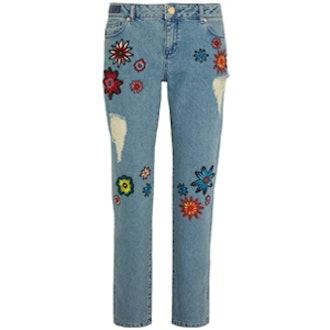 Embellished Nancy Boyfriend Jeans