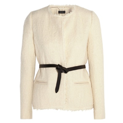 Satchell Belted Boucle Jacket
