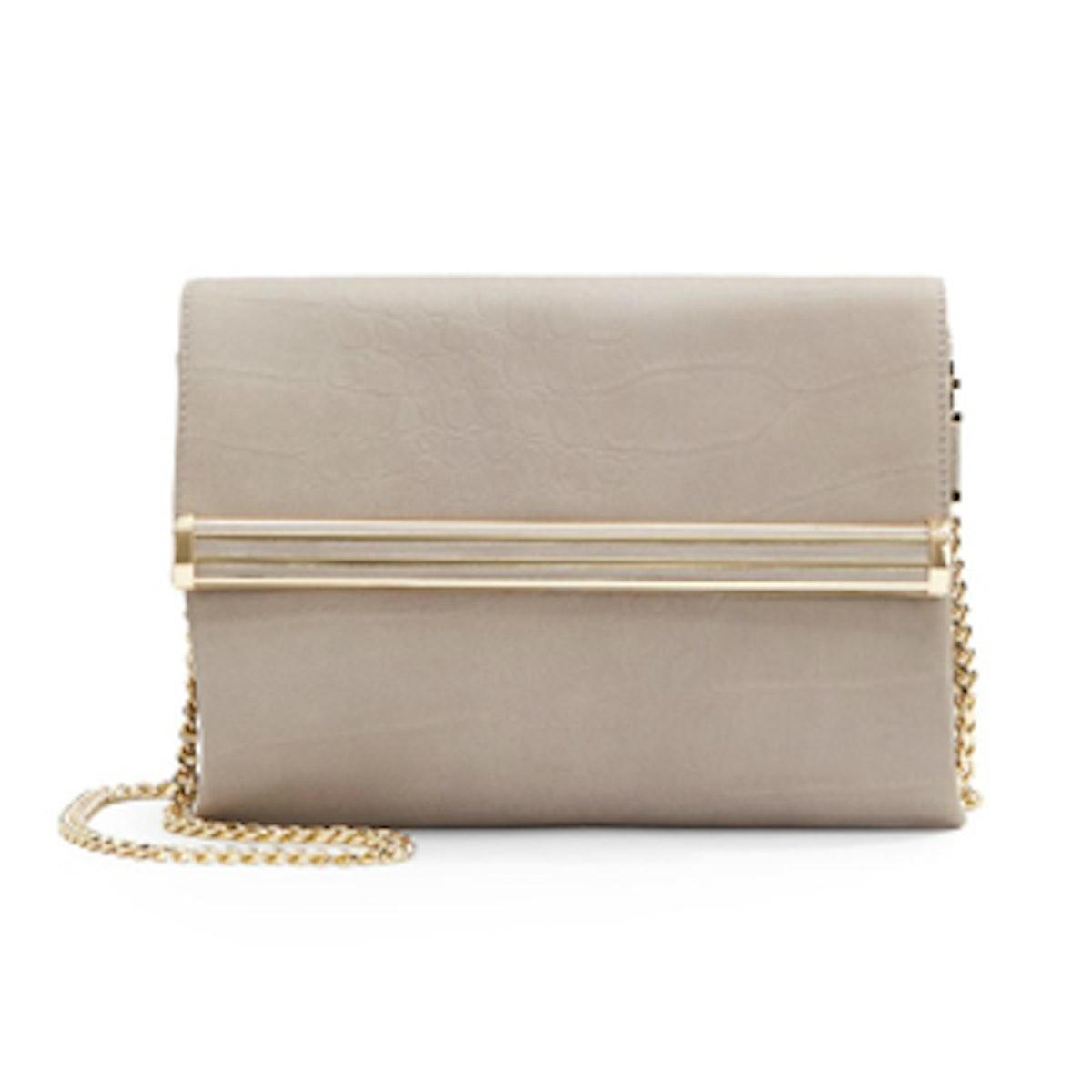 Embossed Flap Bag