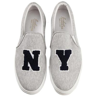 Shearling NY Slip-On Sneakers