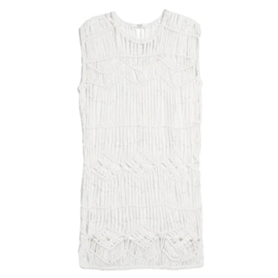 Knotted Openwork Dress