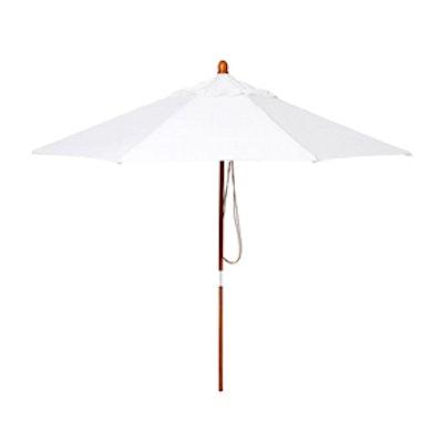 Sunbrella Patio Umbrella in White