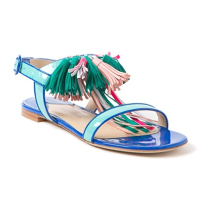 Krisila Tassel Sandals
