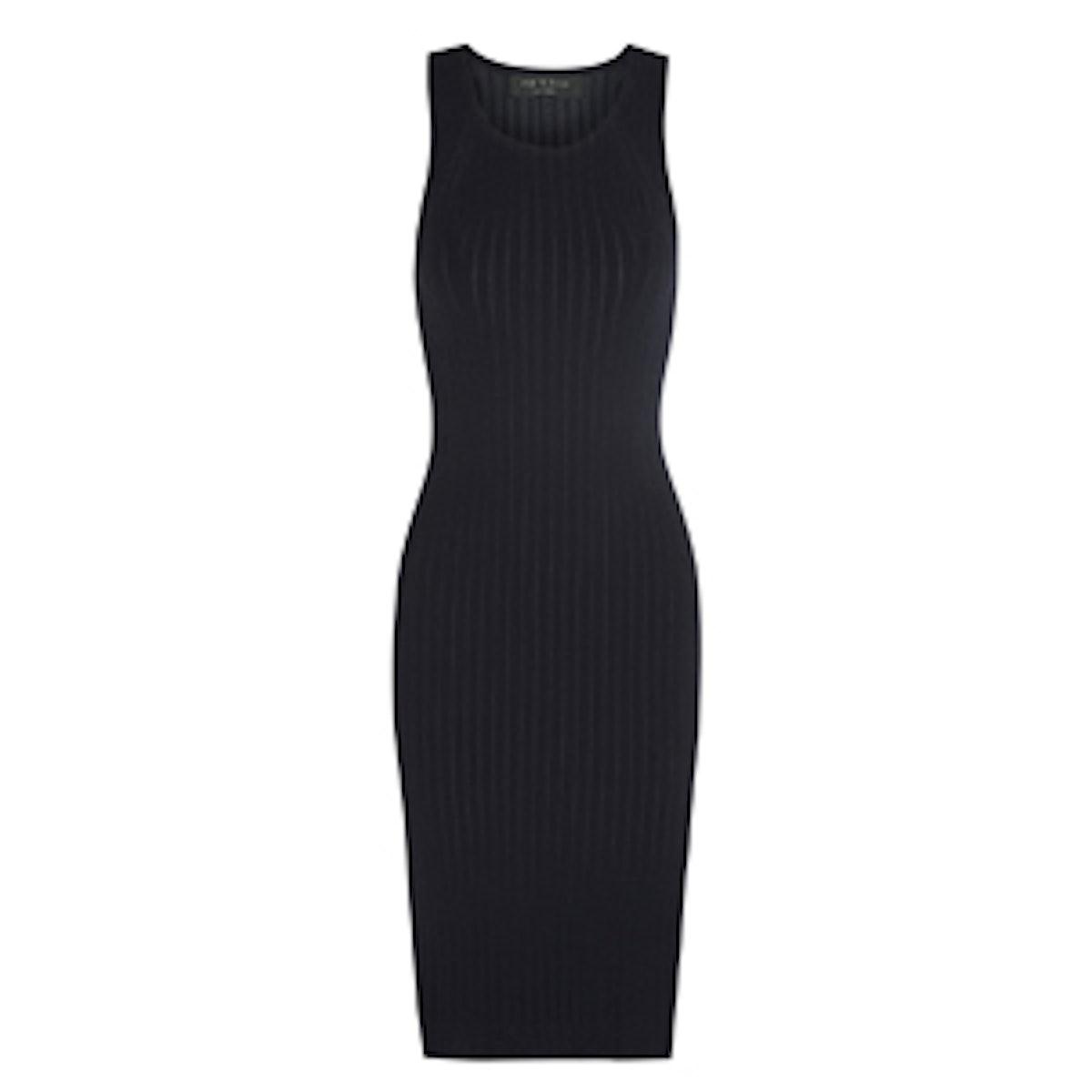 Leslie Ribbed Midi Dress