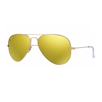 Aviator Flash Lenses in Yellow Flash