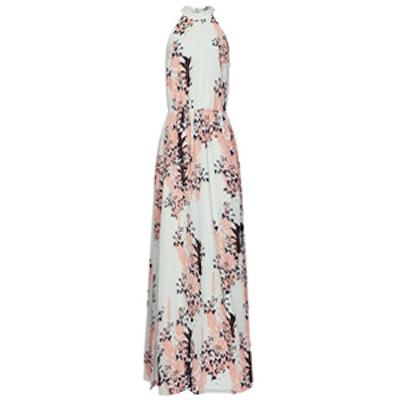 Arleta Floral Print-Maxi Dress