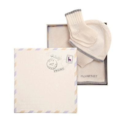 Cashmere Socks, Hat and Blanket Gift Set
