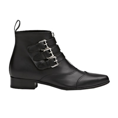 Early Leather Motorcycle Ankle Boots