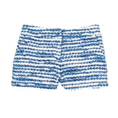 Chenille Tweed Shorts