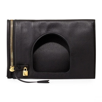 Alix Padlock & Zip Shoulder Bag