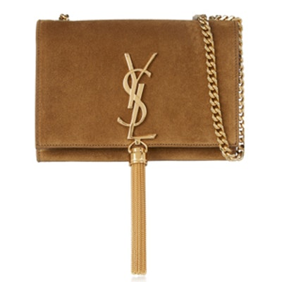 Monogramme Small Suede Bag