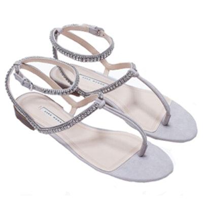 Flat Sandal with Diamante