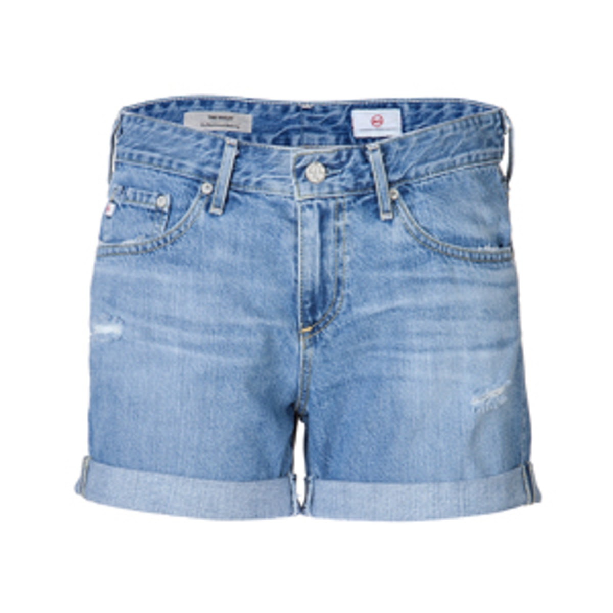 Roll Up Jean Shorts
