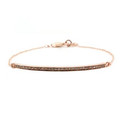 Pave Diamond Ellipse Bracelet