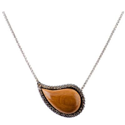 Ishq Cognac Diamond Pendant