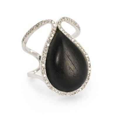 Ishq Diamond & Ebony Ring