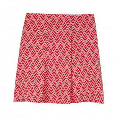Africa Skirt in Textured Geo