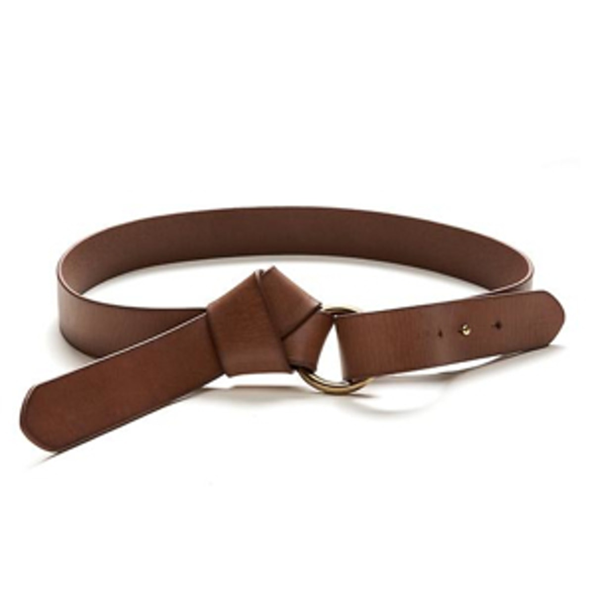 Knotted Leather Belt