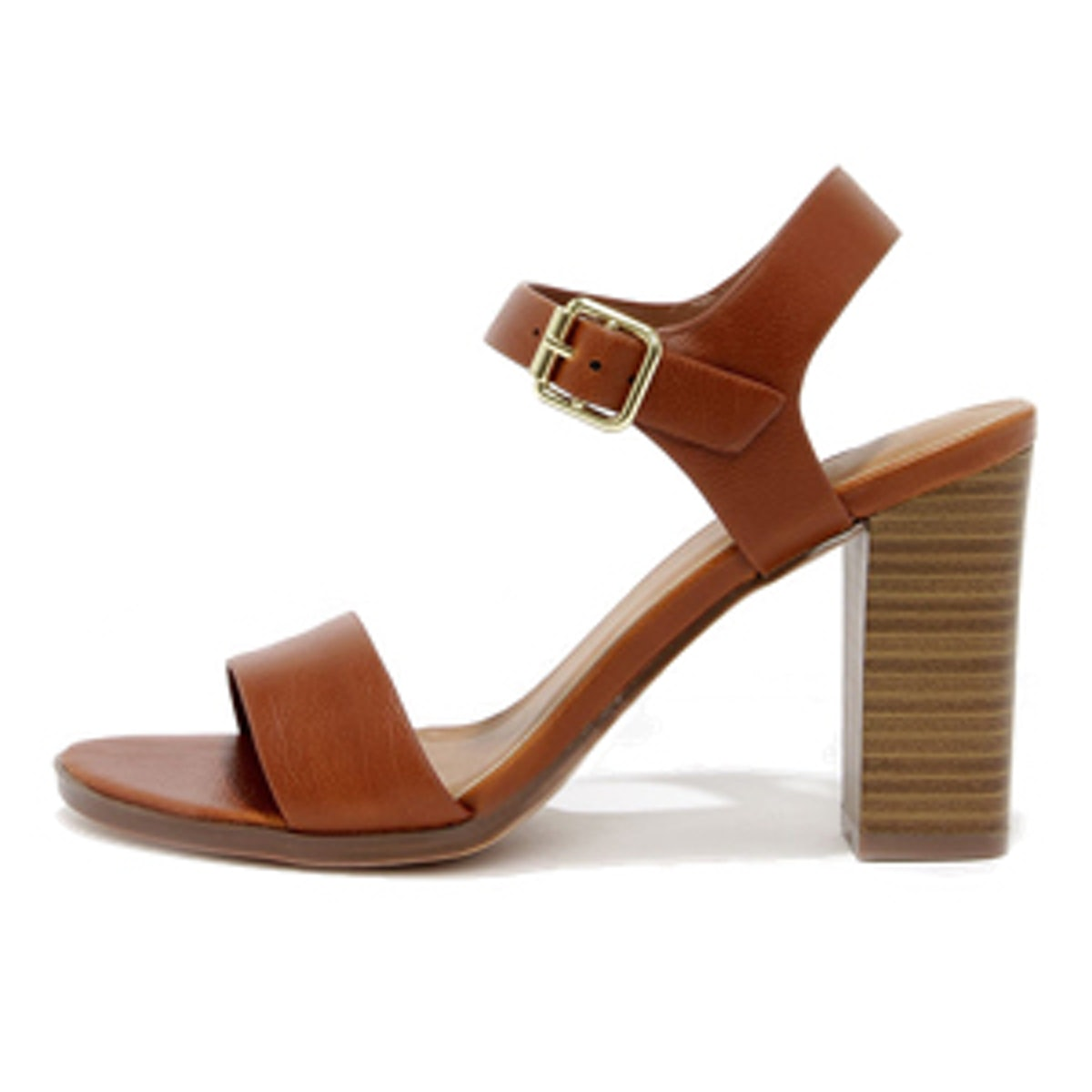 In Any Event Tan High Heel Sandal
