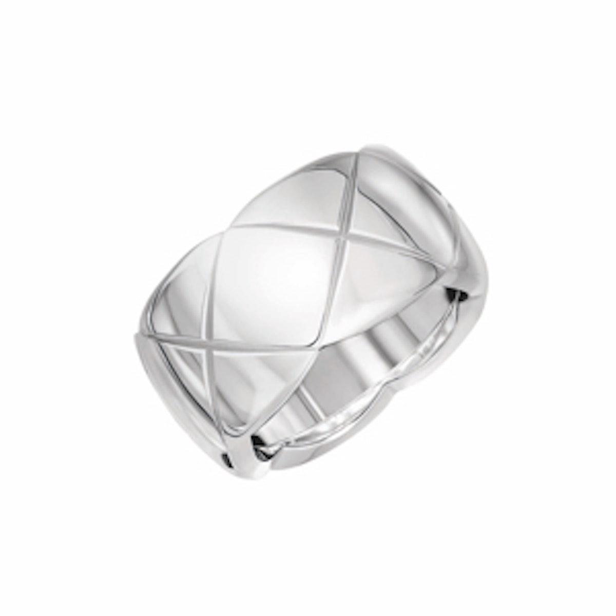 Medium 18-karat White Gold Ring