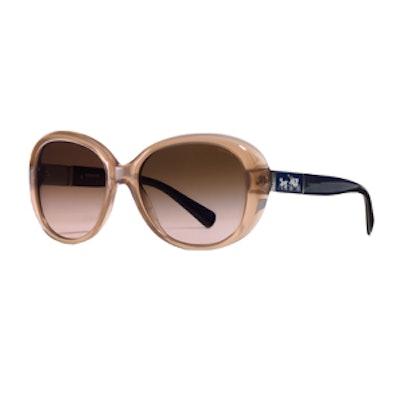 Carter Sunglasses in Milk Brown/Navy