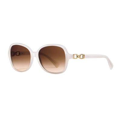 Cole Sunglasses in Milky Ivory