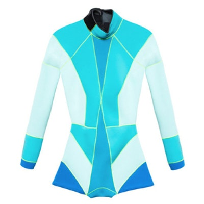 Colorblock Wet Suit