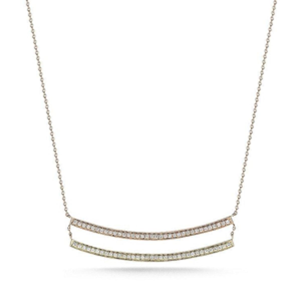 Sylvie Rose Double Bar Necklace