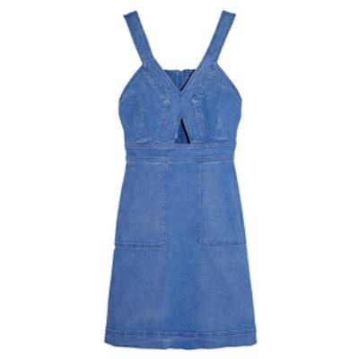 Cutout Denim Mini Dress