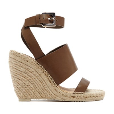 Nessah Sandals in Olive
