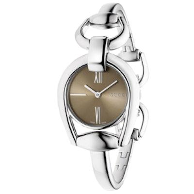 Horsebit Bracelet Stainless Steel Watch